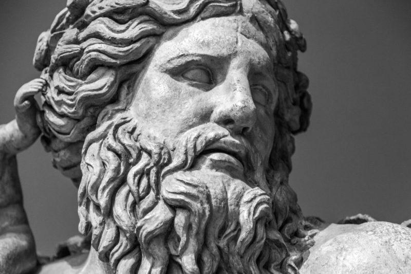 Poseidón, Dios de los mares