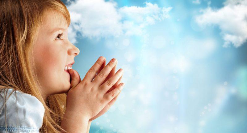 Oración de la mañana para niños
