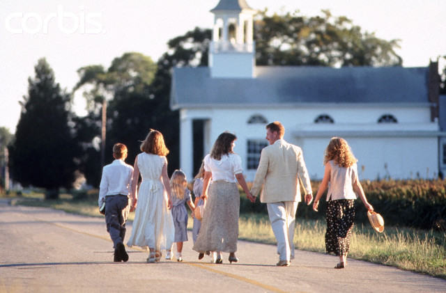 asistir iglesia familia