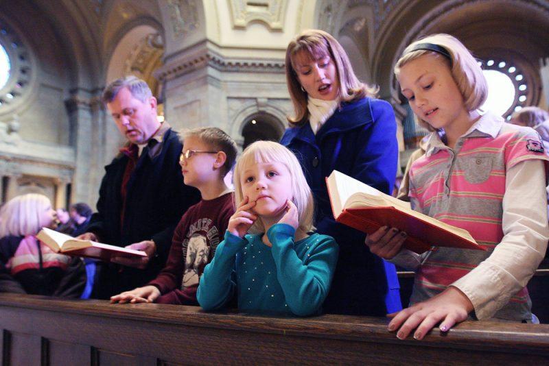 Razones para ir a la iglesia como familia
